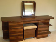 Example of a high gloss dressing table