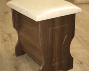 Fitted bedroom stool