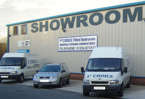 Our Darwen Based Showroom